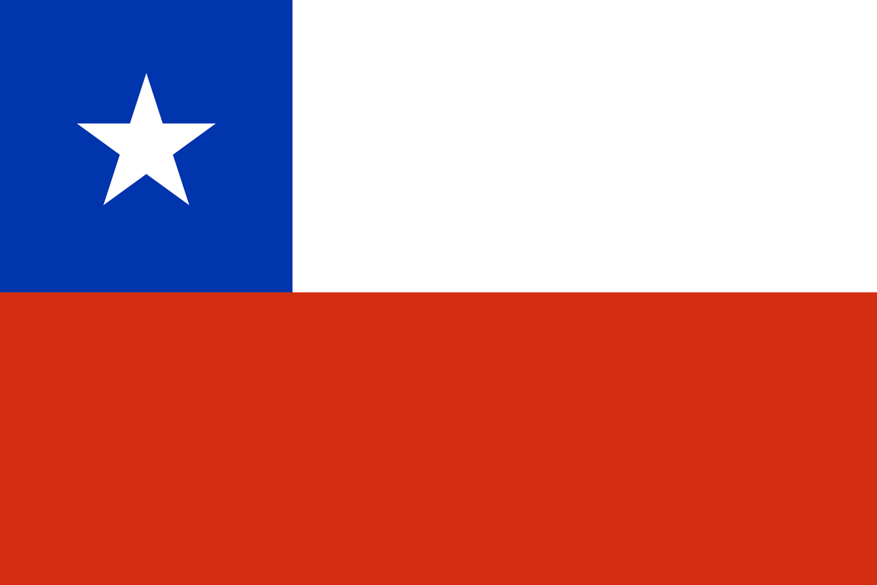 Chile Flagge